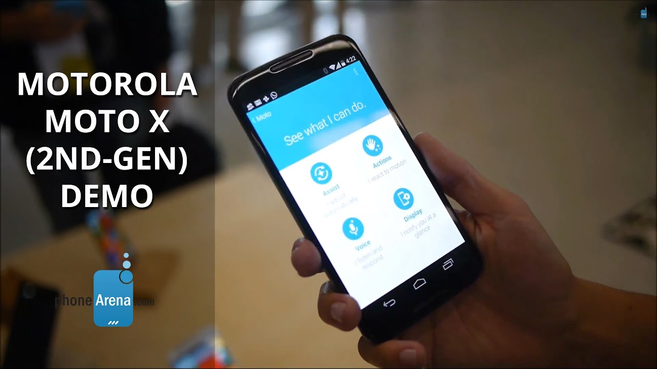 Motorola moto x 2nd gen demo youtube ccuart Gallery