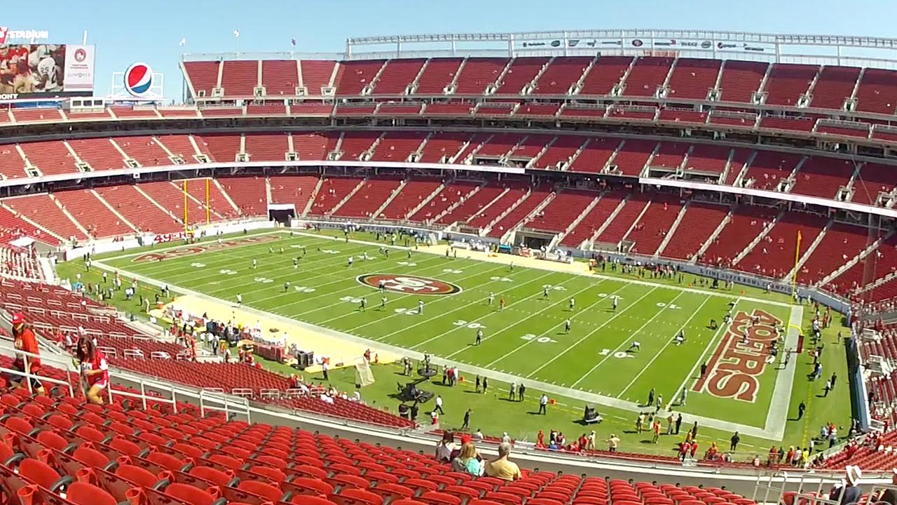Levis Stadium Capacity >> An Inside Look At Levi S Stadium Youtube