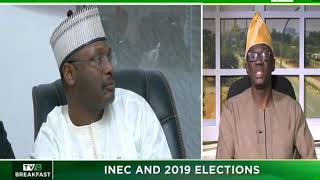 TVC Breakfast 22nd January 2019 | INEC and 2019 Elections
