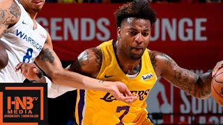 Los Angeles Lakers vs Golden State Warriors Full Game Highlights | July 12 | 2019 NBA Summer League