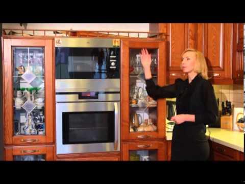 Cмотреть Кухонный гарнитур из натурального дерева. Kutchen Lab.