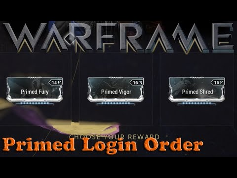 Download Warframe - Daily Tribute Primed Mod Pickup Order