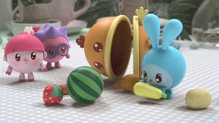 - Малышарики новые серии Ням Ням 125 серия Развивающие мультики для самых маленьких