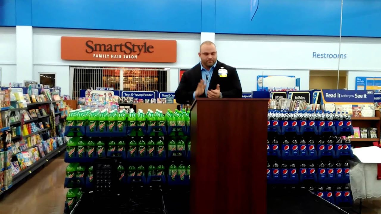 zebulon nc wal-mart grand reopening ceremony