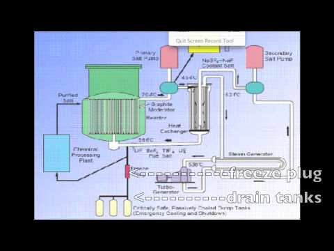 thorium molten salt reactors