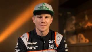F1 Track Preview with Nico Hülkenberg - GP of Germany 2016 | AutoMotoTV