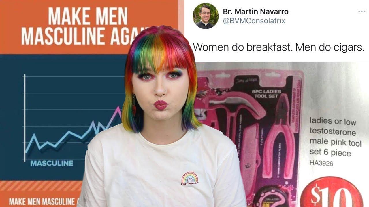 are men okay? (spoiler: no, no they aren't)