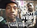 """Capture de la vidéo Kanye West """"super Rare Video""""  Aug. 15, 2003 (Interview & Freestyle Before He Was A Rap Star)"""