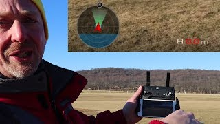 Attitude Indicator Detailed Explanation for DJI SPARK