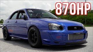 Subaru STI Quest for 8