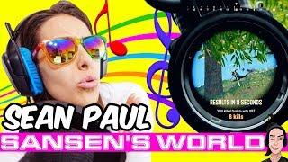Sansen feat. PUBG - Sean Paul (official music video)