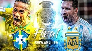 Live Brazil vs Argentina Copa America