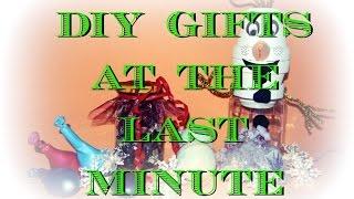 Dárky na poslední chvíli / Last Minute DIY Christmas Gifts