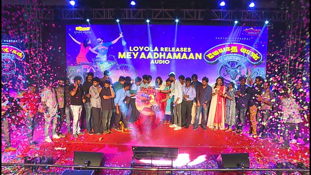 Meyaadha Maan Audio Launch Promo | Pradeep Kumar, Santhosh Narayanan | Vaibhav, Priya |