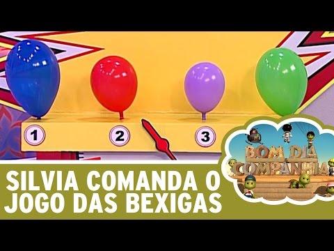 Bom Dia e Cia. (20/05/16) - Silvia Abravanel comanda o Jogo das Bexigas