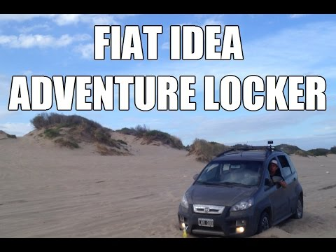 fiat idea adventure locker youtube