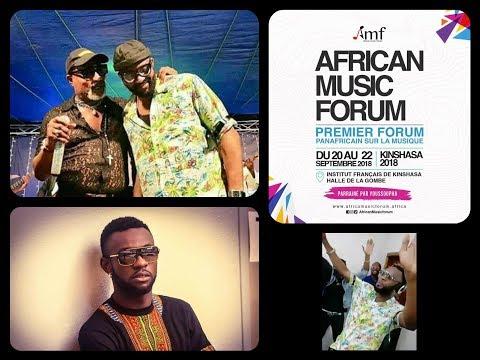 AFRICAN MUSIC FORUM Maestro Fabregas, Youssoupha, Mohombi Conférence De Presse