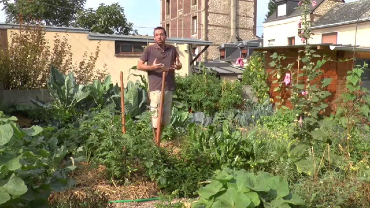 mon jardin potager urbain permaculture sept 2015 youtube. Black Bedroom Furniture Sets. Home Design Ideas