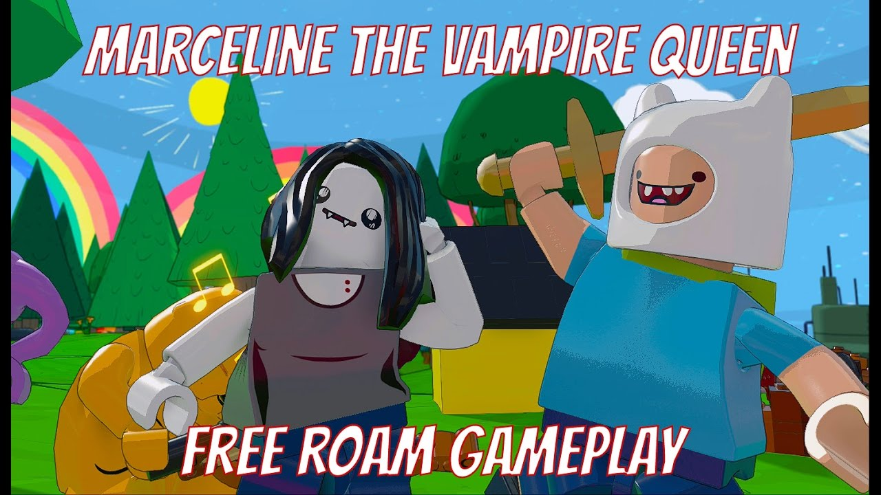 Download LEGO Dimensions Marceline The Vampire Queen Free Roam Gameplay on Adventure Time World