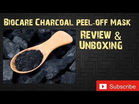 Biocare charcoal peel off ||  is it worth Buying???? -  Look4Ashi