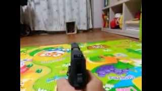 WE P226 시그 가스건 사격