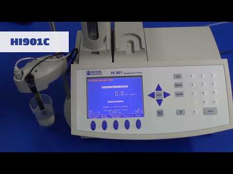 HI 901C Titulador Automático