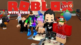 ROBLOX Live Stream - Playing with Subs and viewers