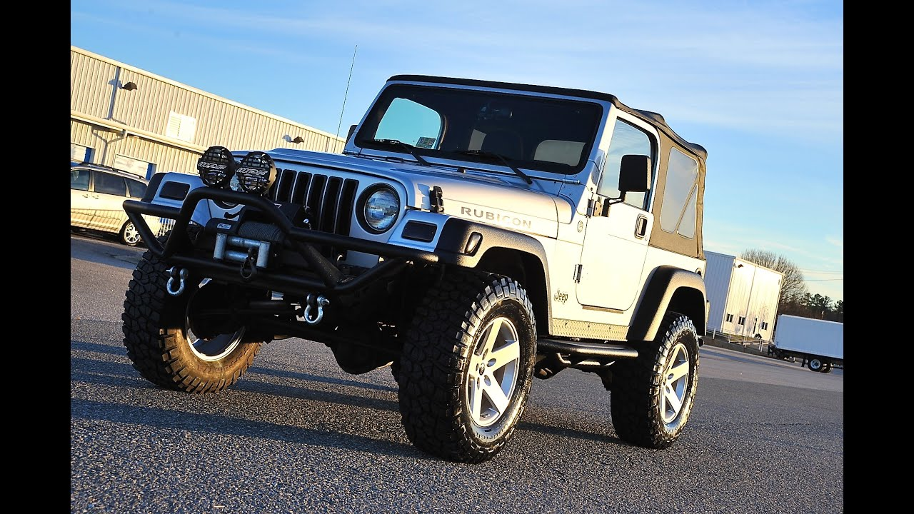 Davis Autosports 2006 Wrangler Rubicon Tj For Sale
