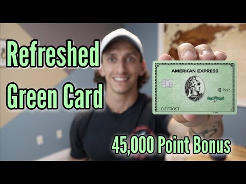 NEW Refreshed American Express Green Card | Worth It?