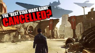 You NEED to see this CANCELLED Star Wars Game... it could've been 'the best ever'