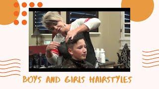 (Boy Haircut) Boys Short Haircut and Hairstyles