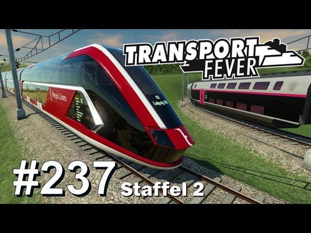 TRANSPORT FEVER S2/#237: 30 Min. Mitfahrt mit dem TG HyRT [Lets Play][Gameplay][German][Deutsch]