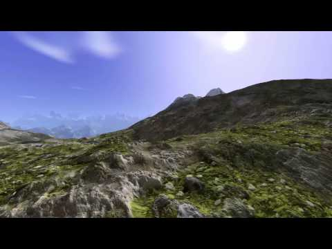 Virtual planet. Endless 3D terrain.