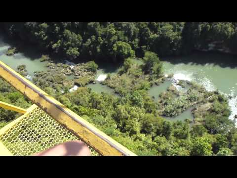 Cable car above Loboc River valley, Bohol, Philippines (2)