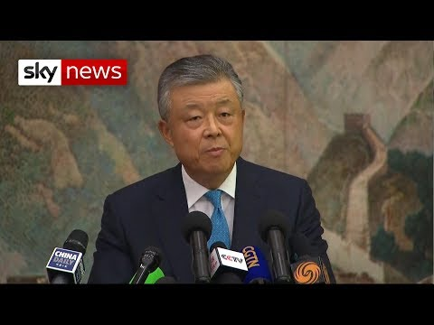 BREAKING NEWS: China 'will not sit on its hands' over Hong Kong protests