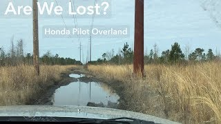 Are We Lost? Honda Pilot Overland