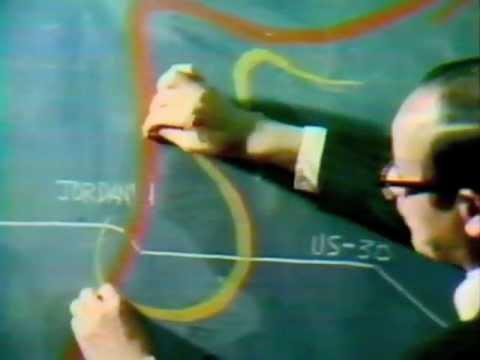 "Theodore 'Ted"" Fujita's research into the Jordan Iowa Tornado 6-13-1976"
