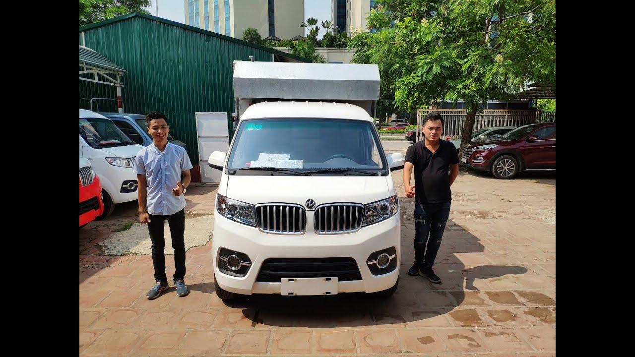 Xe ô tô bán hàng lưu động, thùng cánh dơi dongben t30 tại ô tô Thái Phong