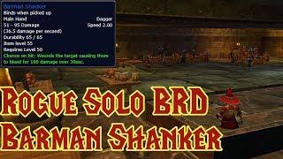 How to SOLO Farm BRD as a Rogue | Barman Shanker Farm in 5 Minutes