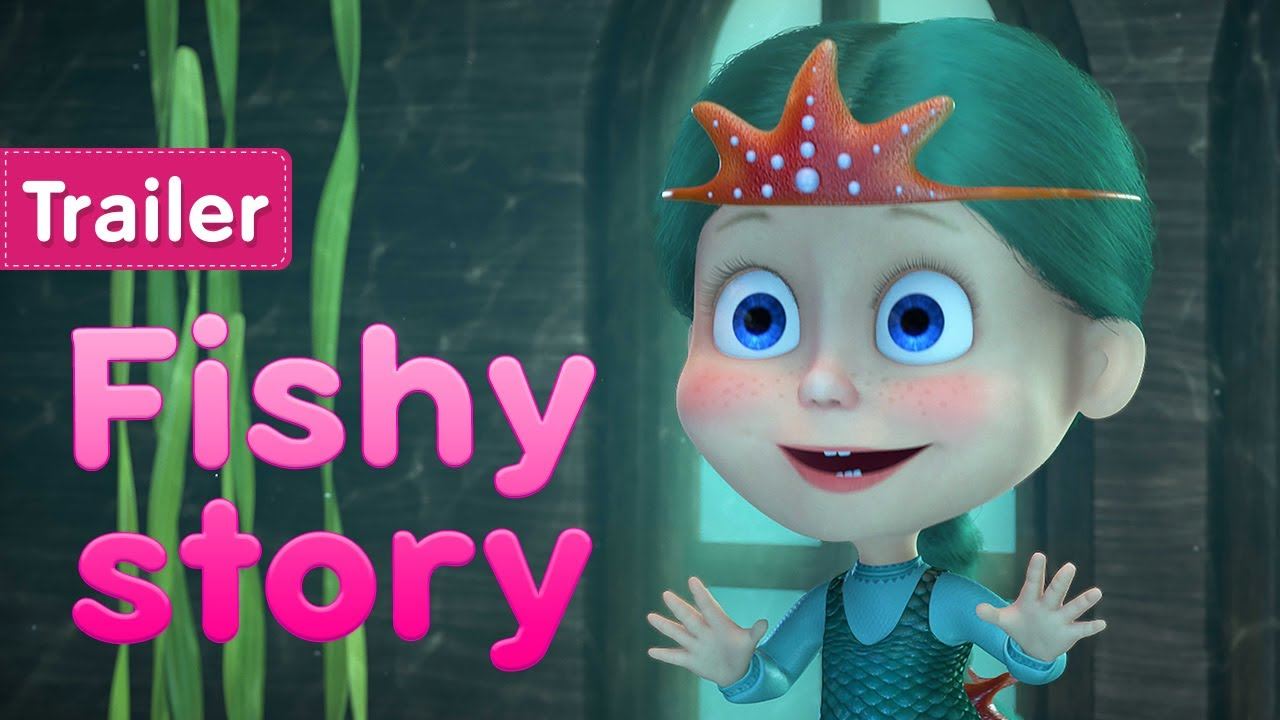 Masha and the Bear 🌊 Fishy story 🧜♂️ (Trailer) New episode on June 11! 🎬