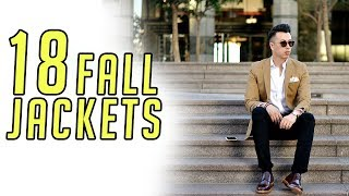 18 Jackets for Fall || Men