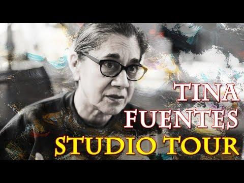 Tina Fuentes Lubbock, Texas Art Studio Tour (UHD/4k Photos)