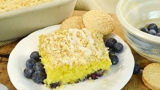 Lemon Blueberry Dump Cake Recipe | Radacutlery.com