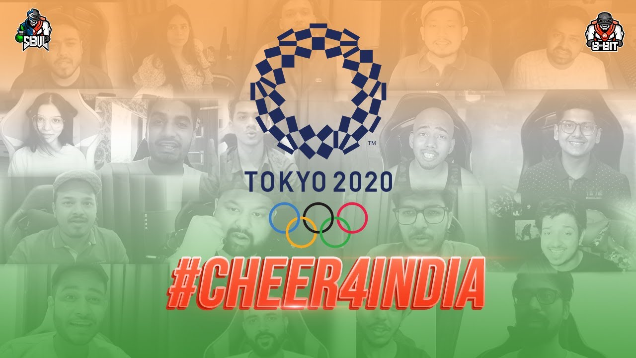 S8ul and 8bit cheer for India | Tokyo Olympics 2020 #cheer4India #tokyoOlympics2020
