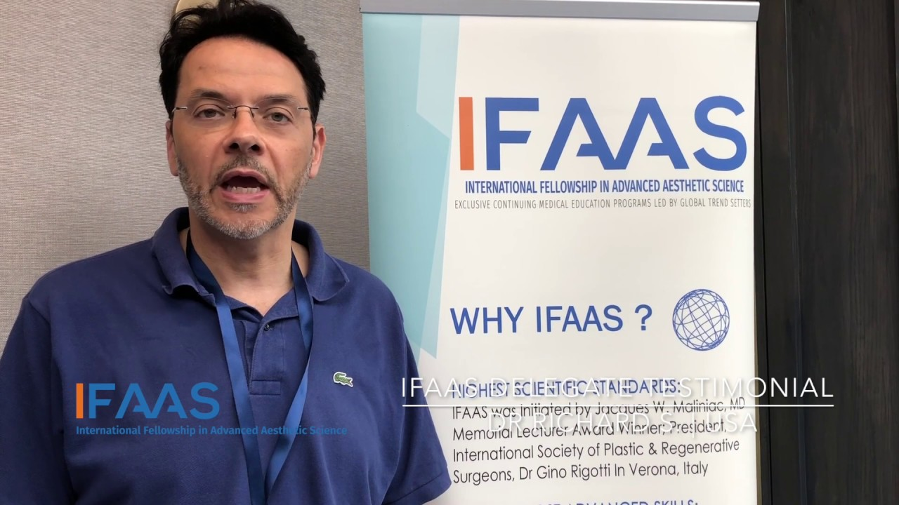 IFAAS Delegate Testimonial - Dr. Richard S. | United States