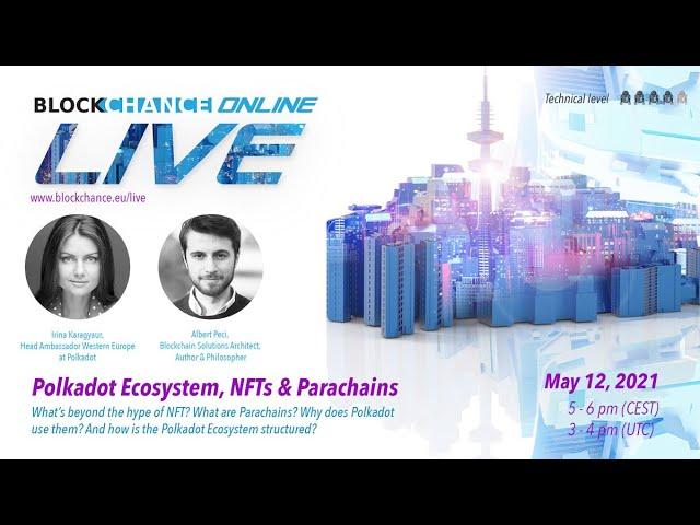 Polkadot Ecosystem, NFT & Unique Network w/ DOT Head Ambassador Irina Karagyaur - BCO#12