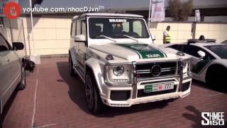 The Dubai Police Supercar Fleet
