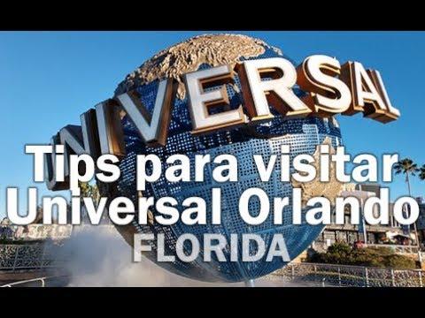 Tips para visitar Universal Orlando - FLORIDA