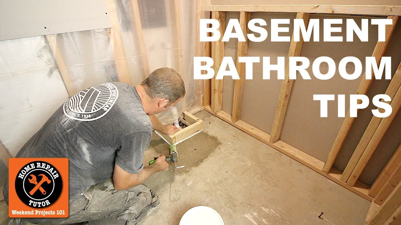 How To Install A Basement Bathroom Awesome Quick Tips By Home