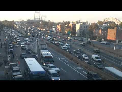 Traffic @ Triborough Bridge by Faw_z Aldo